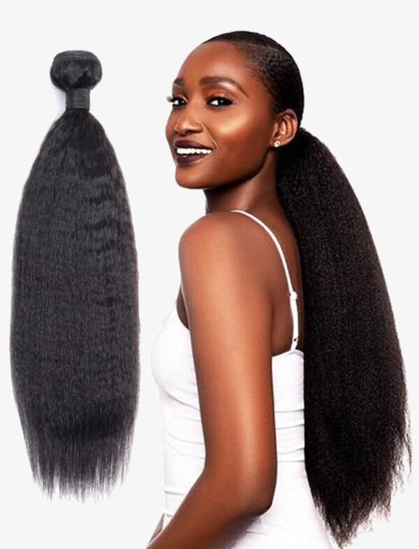 Kinky Straight human hair1