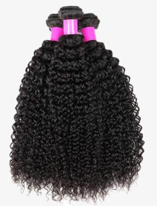 Peruvian curly virgin Human hair